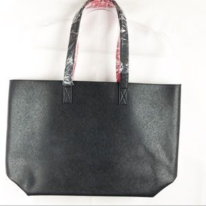 SHESEIDO BLACK & RED TOTE BAG. NEW.